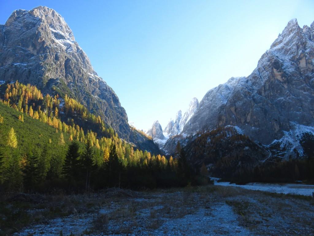 Luca Vivan, travel blogger, Val Pusteria, Val Fiscalina, foliage, Dolomiti, Sud Tirolo, Alto Adige