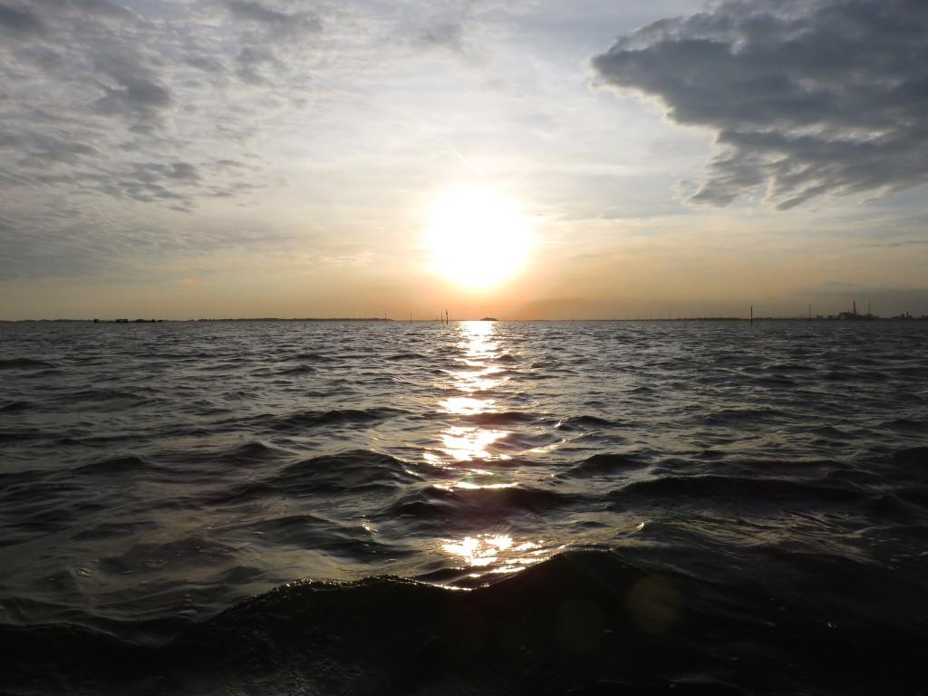 Luca Vivan, travel blogger, Venezia, Poveglia, tramonto