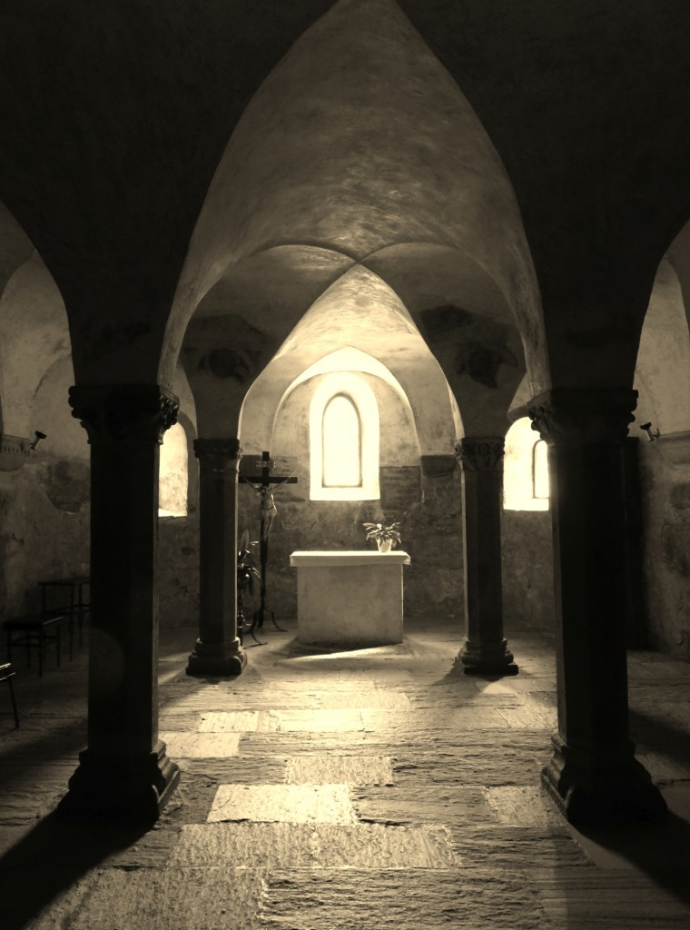 Luca Vivan, eco blogger, ben-essere, Sud Tirolo, Alto Adige, cripta, collegiata, San Candido