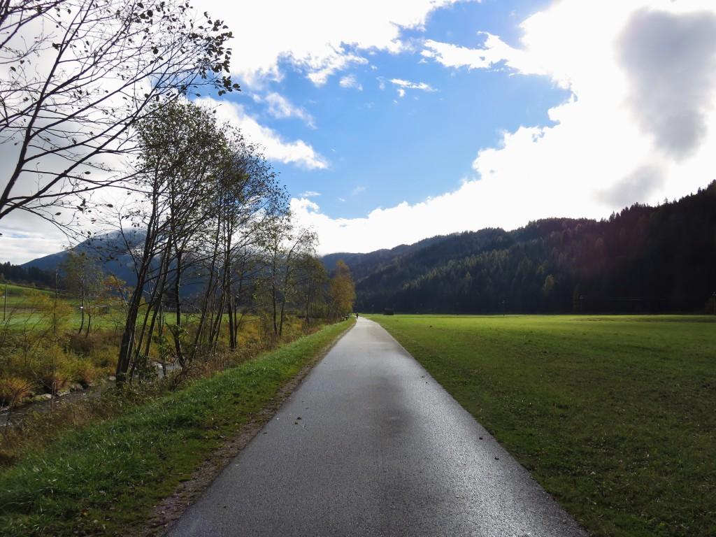 Luca Vivan, eco blogger, ben-essere, Sud Tirolo, Alto Adige, pista ciclabile, San Candido