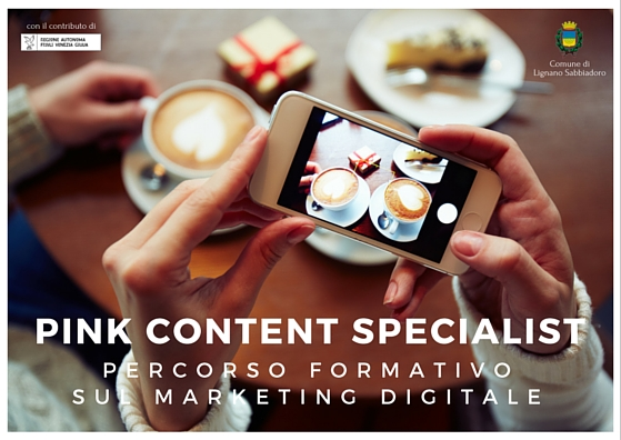 Pink Content Specialist, storytelling a Lignano