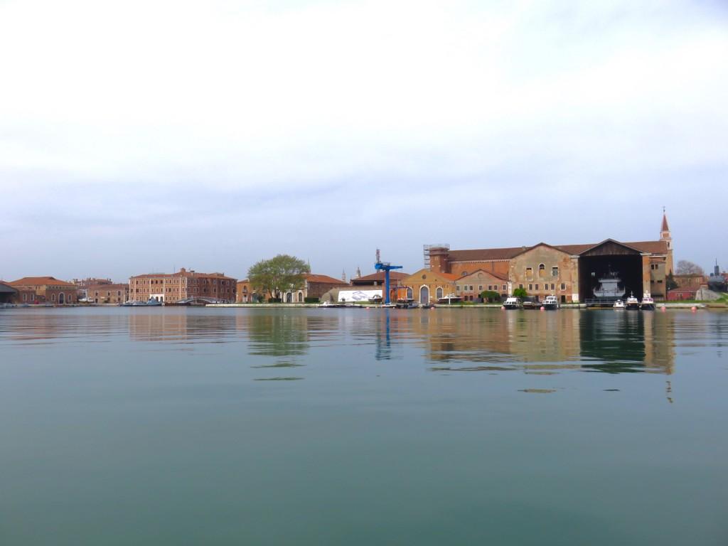 Venezia, oltre Venezia, Slow Venice, Arsenale