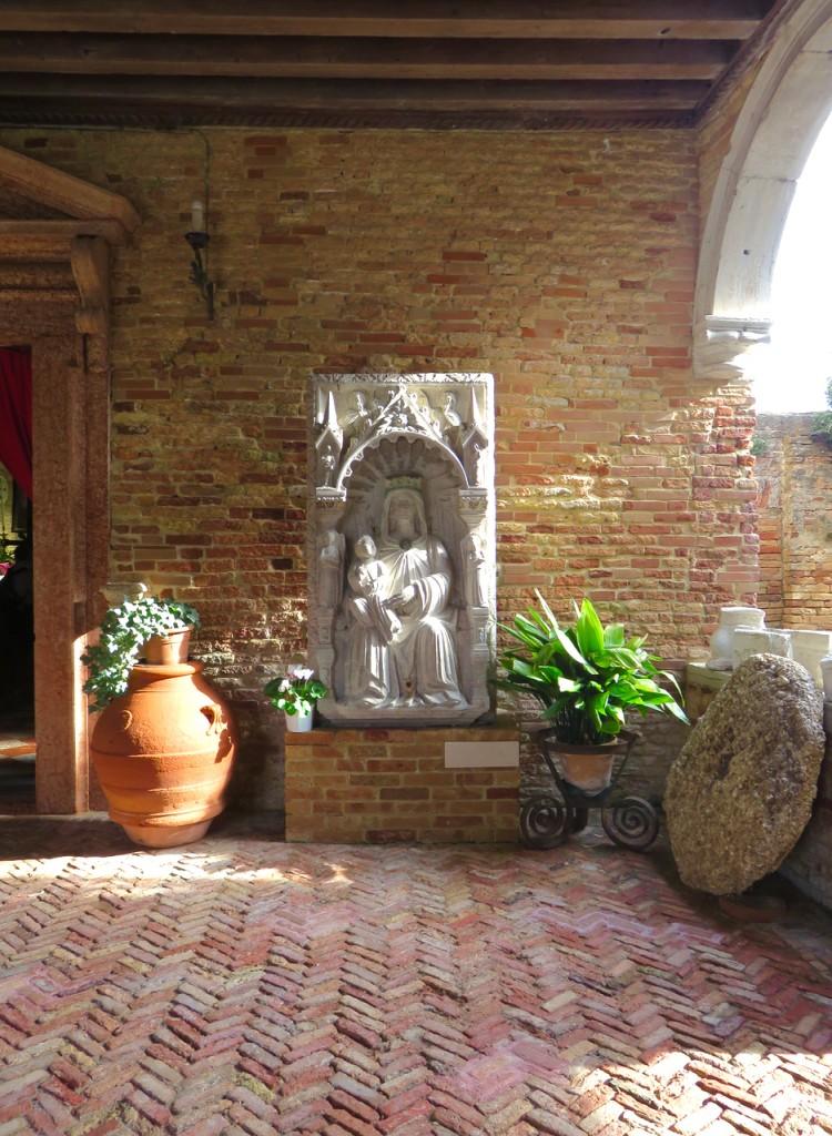 Venezia, oltre Venezia, Slow Venice, Mazzorbo., chiesa di Santa Caterina d'Alessandria