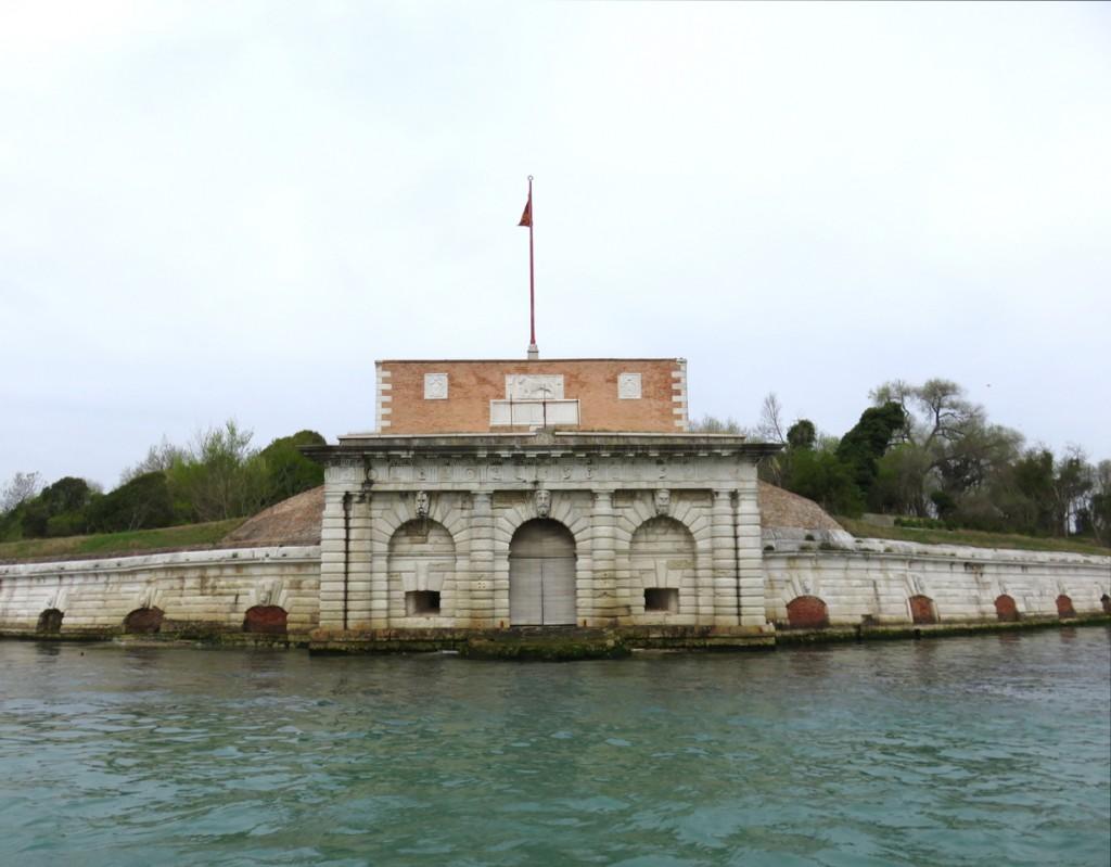 Venezia, oltre Venezia, Slow Venice, forte Sant'Andrea