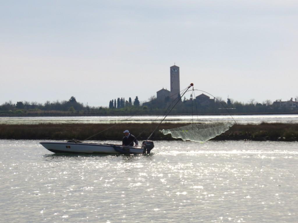 Venezia, oltre Venezia, Torcello, Slow Venice, pescatore