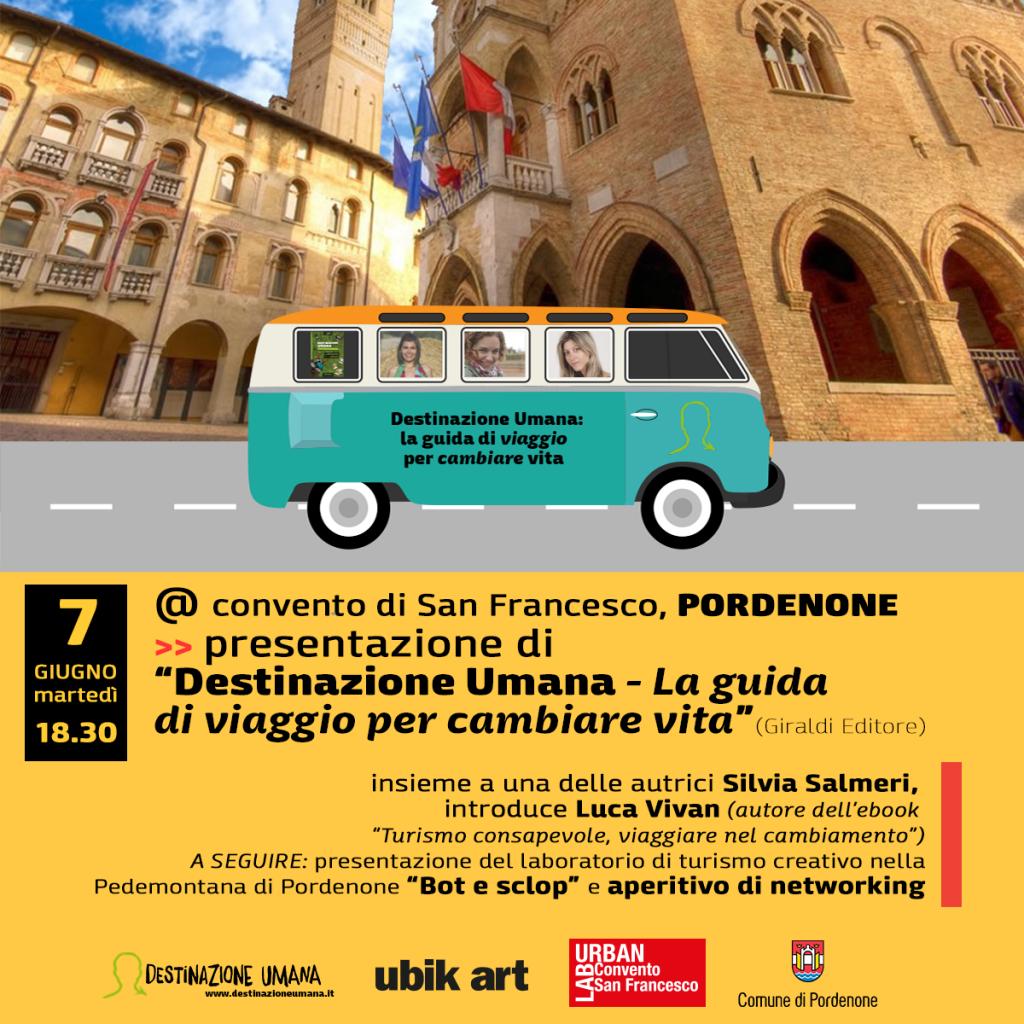 Luca Vivan, Destinazione Umana, guida di Destinazione Umana, turismo consapevole, Pordenone
