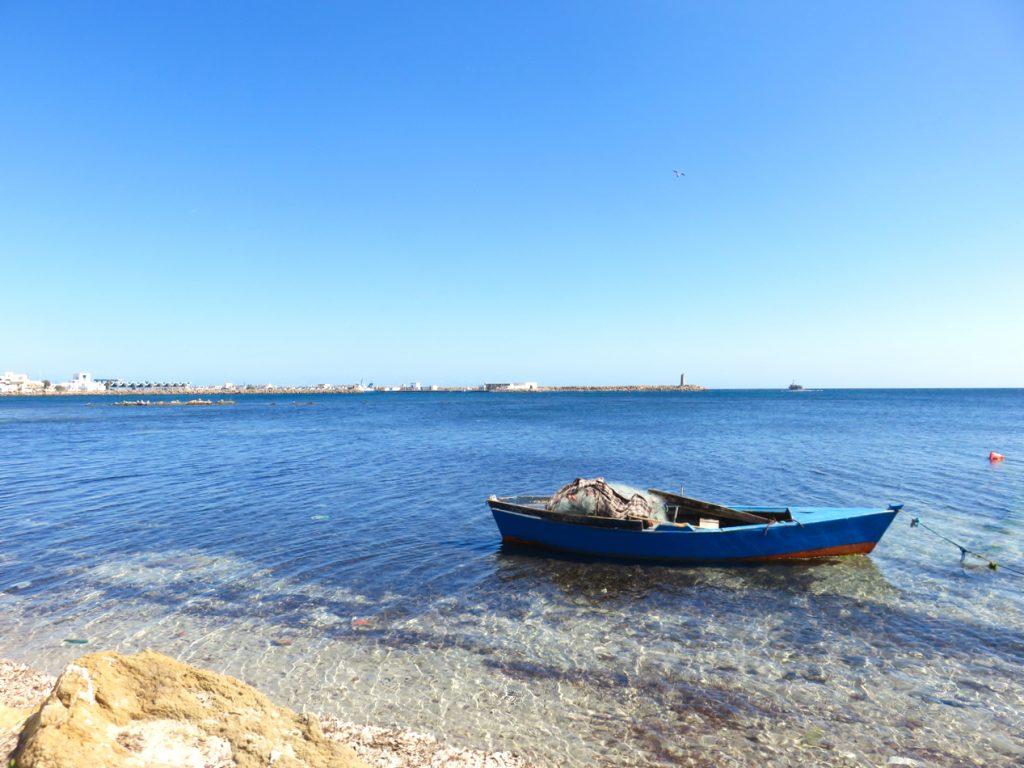 Tunisia, Kélibia, Mediterraneo