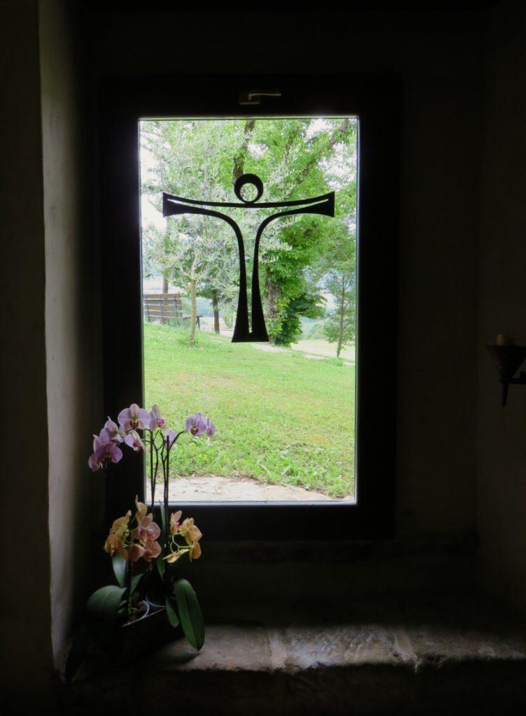 in Casentino, Toscana, Arezzo, Romena, meditazione
