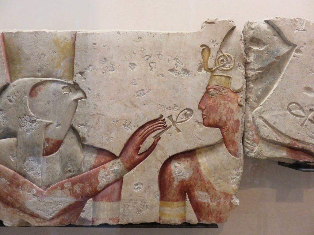 Parigi personale, Parigi, Francia, Paris, Louvre, Egitto, museo egizio del Louvre, ankh, Horus