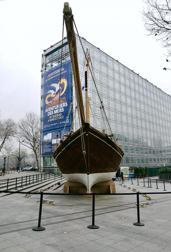 Avventurieri dei mari, Istituto del mondo arabo, Parigi