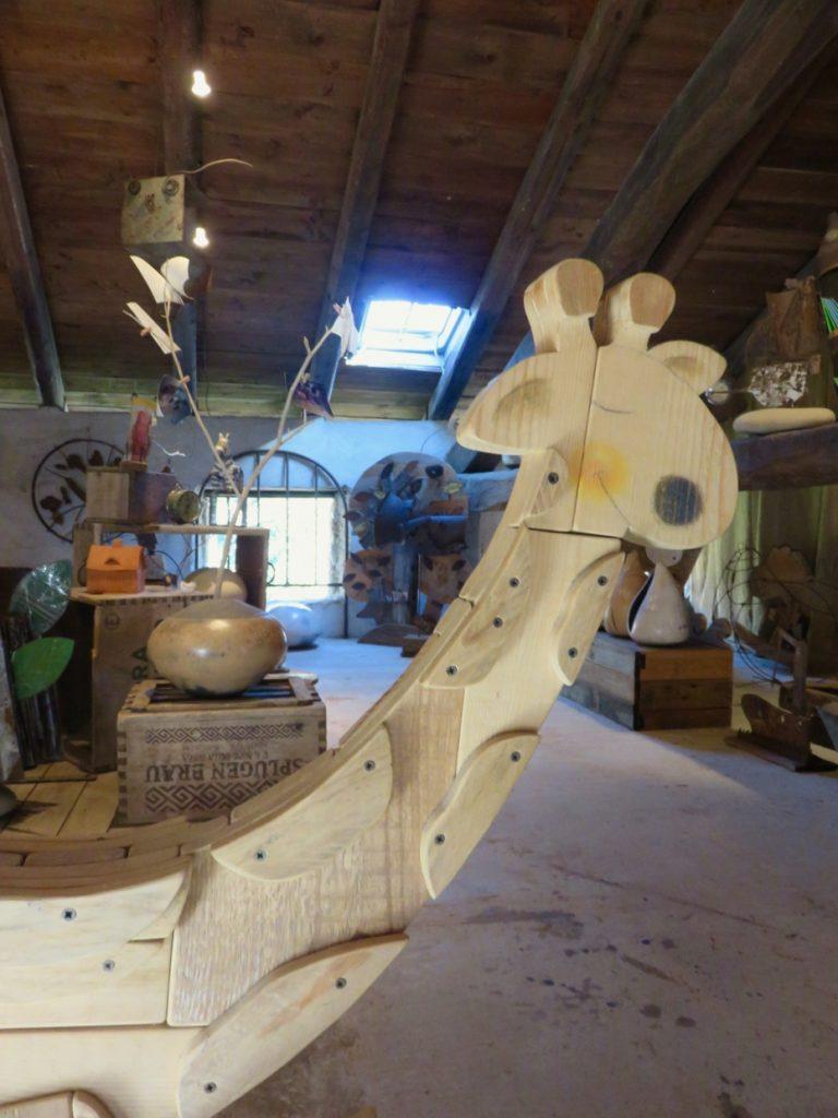 Val Colvera, Friuli, maniago, more clay less plastic, giraffa
