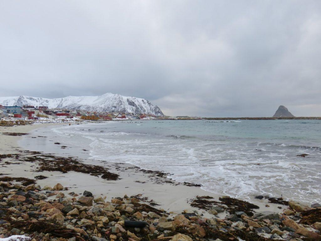 Norvegia del nord, Norvegia, Norway, Nordland, Norge, Andøya, Vesterålen, National Tourist Route on Andøya, Bleik beach