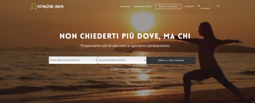 Viaggi ispirazionali, Luca Vivan, Destinazione Umana, inspirational travel designer, nuovi turismi