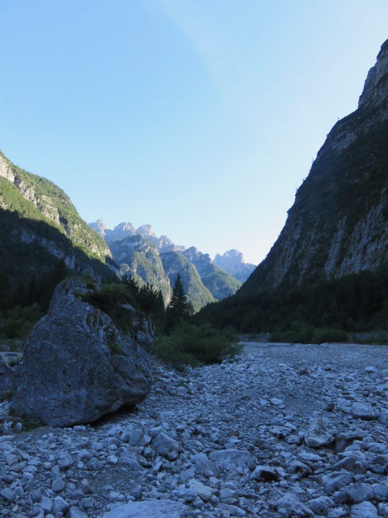Alpi segrete, Val Cimoliana, Dolomiti friulane, Friuli Venezia Giulia