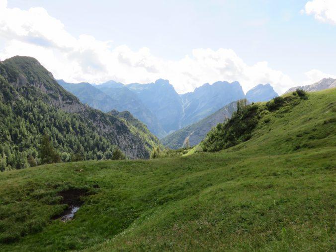 Alpi segrete, Val Cimoliana, Dolomiti friulane, Friuli Venezia Giulia, laghet de sora
