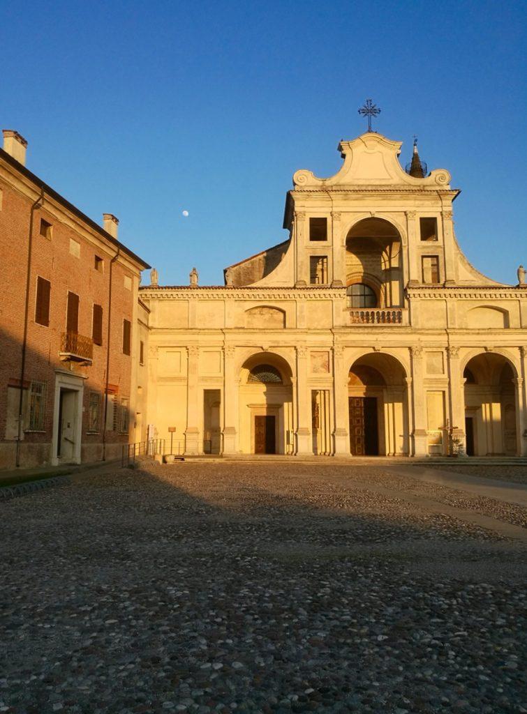 basso mantovano, San Benedetto Po, Abbazia San Benedetto in Polirone, Mantova, Lombardia