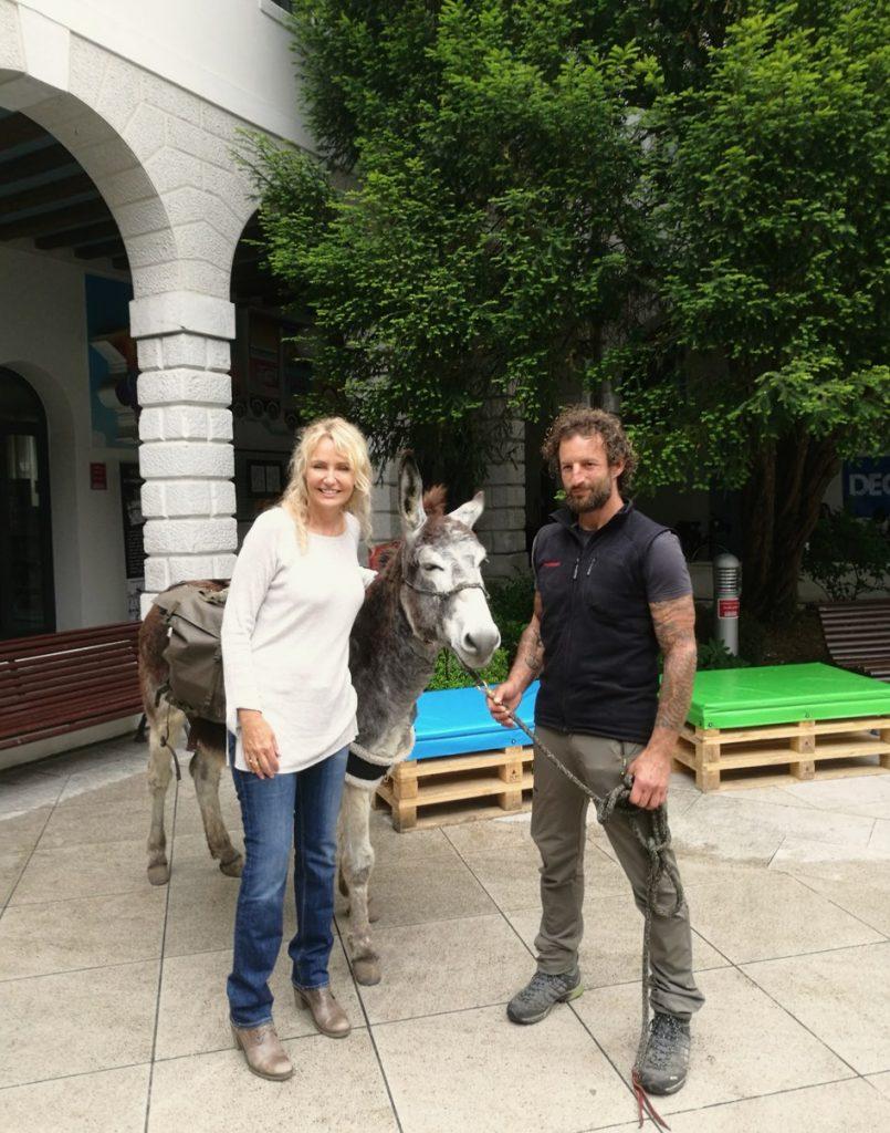 Pordenoneviaggia, Alfio Scandurra, Licia Colò, asino, donkey, Pordenone, Friuli-Venezia Giulia