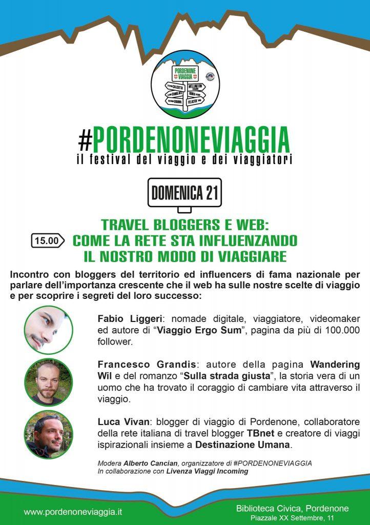 Pordenoneviaggia, Luca Vivan, Francesco Grandis, Fabio Liggeri