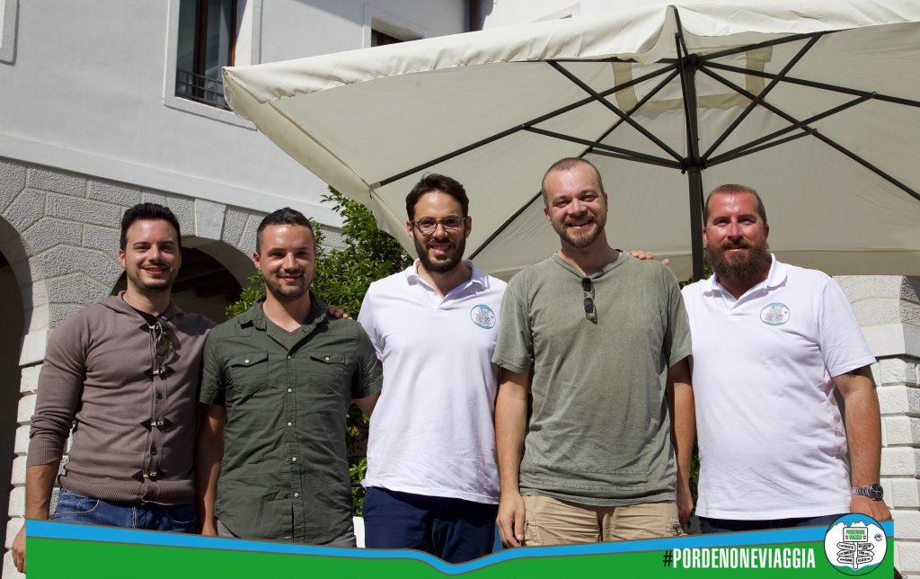 Pordenoneviaggia, Luca Vivan,. Alberto Cancian, Francesco Grandis, Fabio Liggeri, Pordenone, Friuli-Venezia Giulia