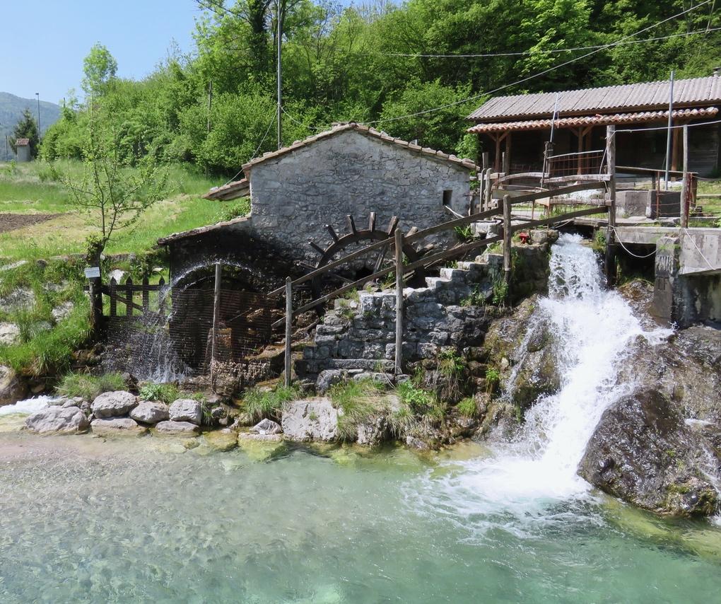 Mulino di Campone, Tramonti di Sotto, Friuli-Venezia Giulia, water mill