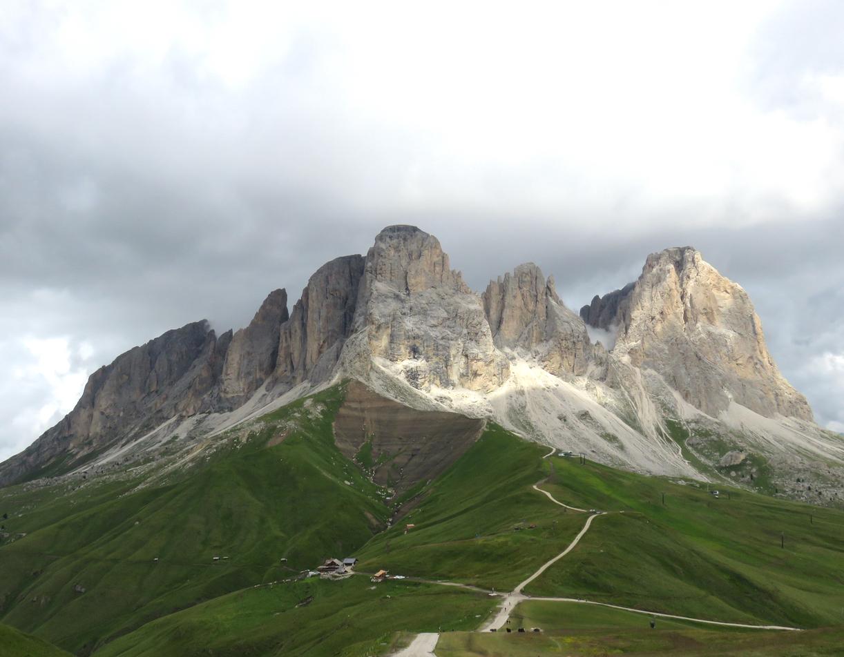 Ecoturismo Val di Fassa, Val di Fassa, Trentino, Dolomiti, Sasso Lungo