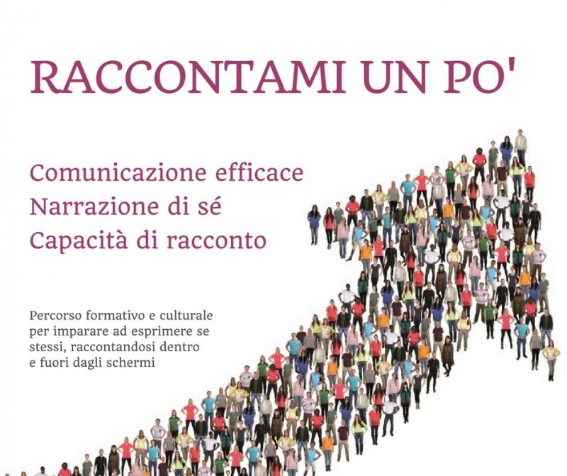 Raccontami un po', Luca Vivan. Enrico Chiari, storytelling Pordenone