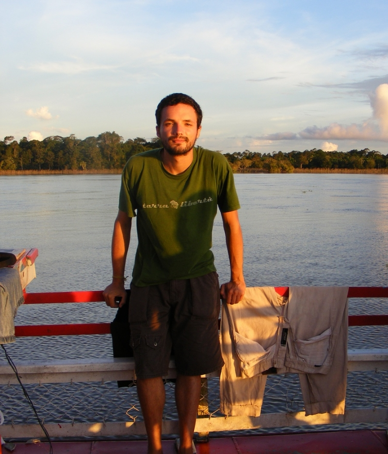 Luca Vivan, Rio delle Amazzoni, Amazonas