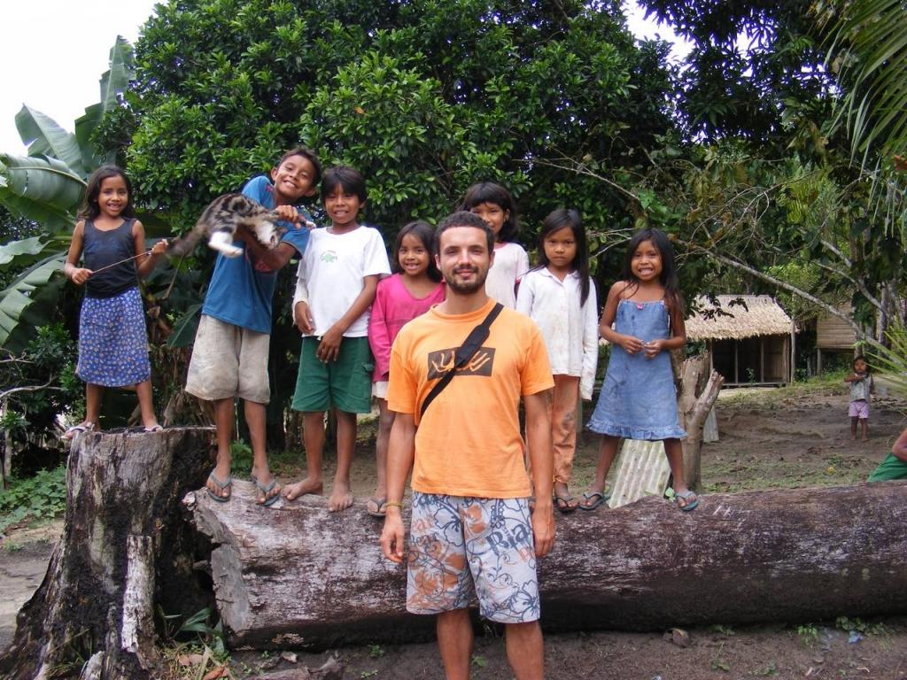 Luca Vivan, Rio delle Amazzoni, Amazonas, Sateré-Mawé, indios