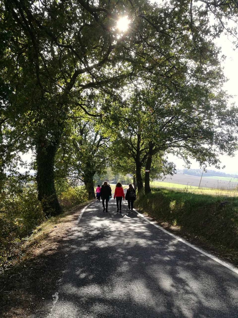 Travel mind, walking on storytelling, Via degli Dei, San Piero a Sieve, Toscana, Mugello