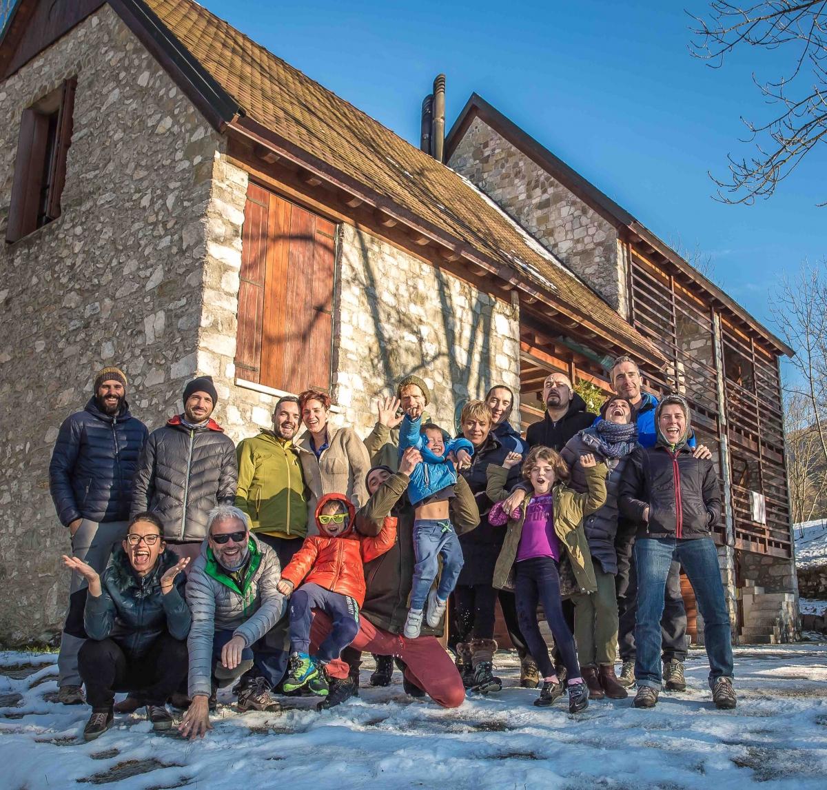 Freeuliamo, Andreis, Pordenone, base scout Andreis, Friuli
