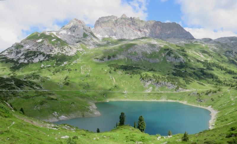Lech am Arlberg, Formarin, nel Vorarlberg, Vorarlberg, Austria, Rote Wand