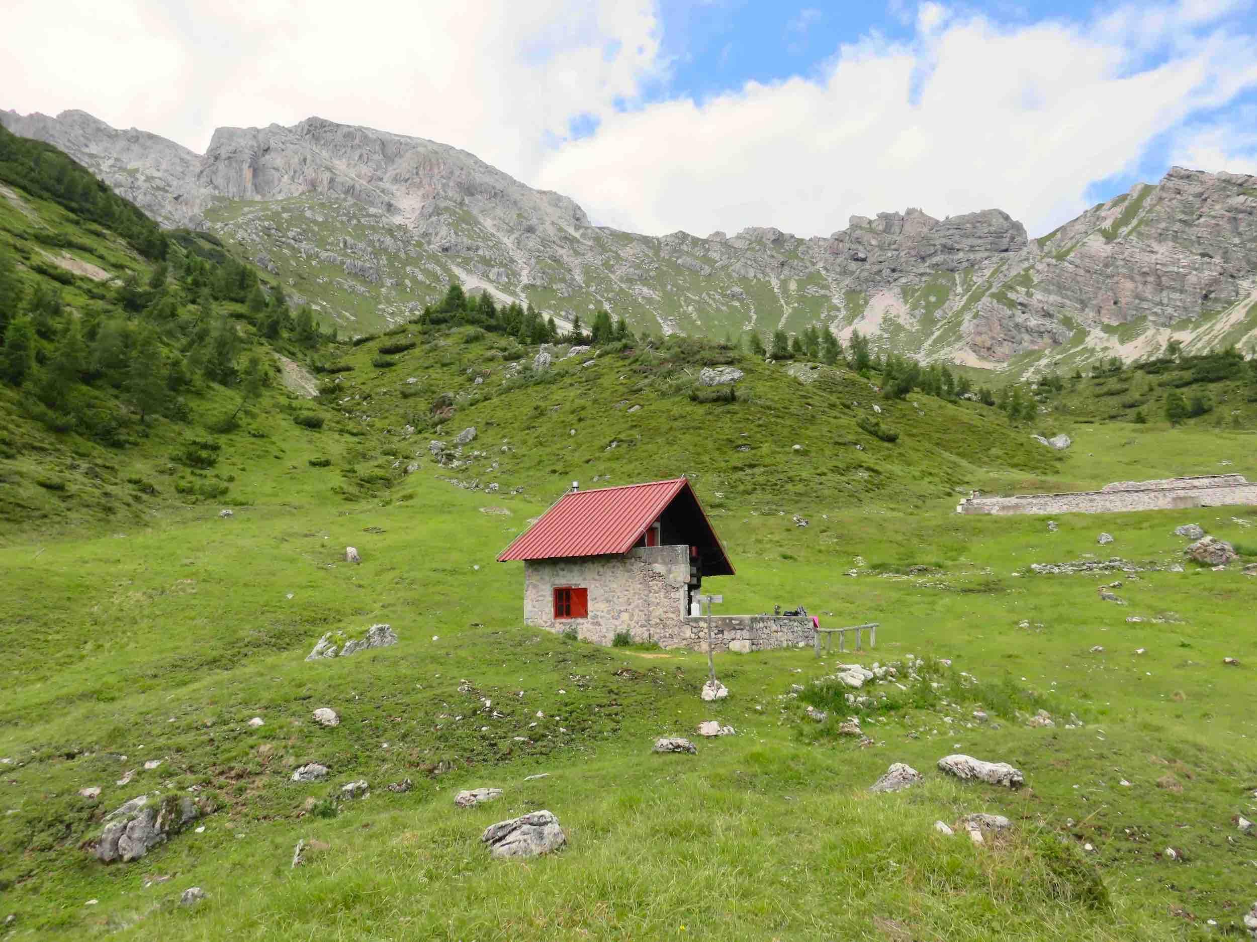 casera Pramaggiore, Val Settimana, Dolomiti Friulane, Claut