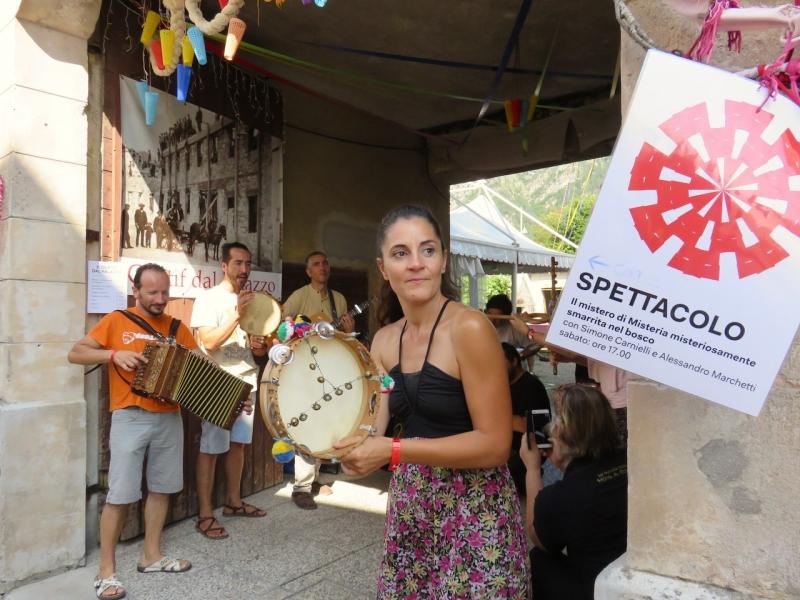 festinval, Tramonti di Sotto, Friuli Venezia Giulia, festinval 2018, Traballo, musiche tradizionali marchigiane