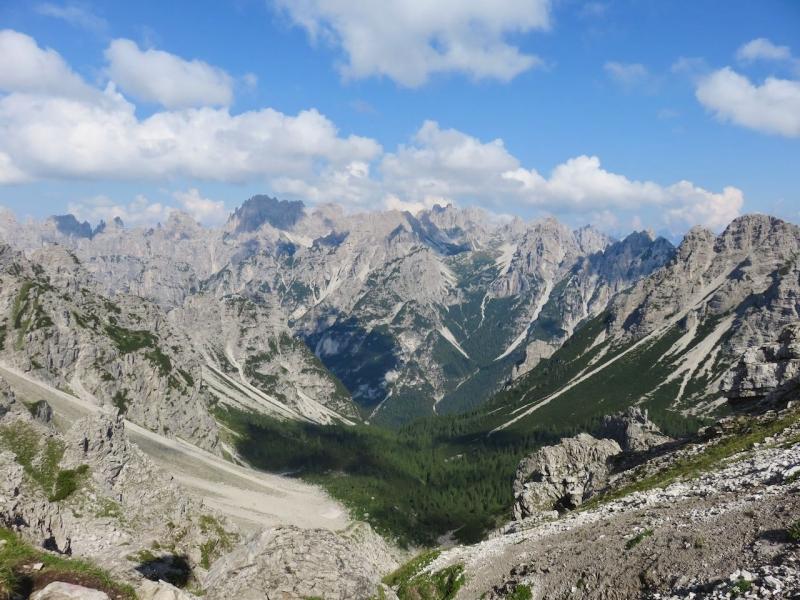 Dolomiti Friulane, Friuli Venezia Giulia, forcella fantulina