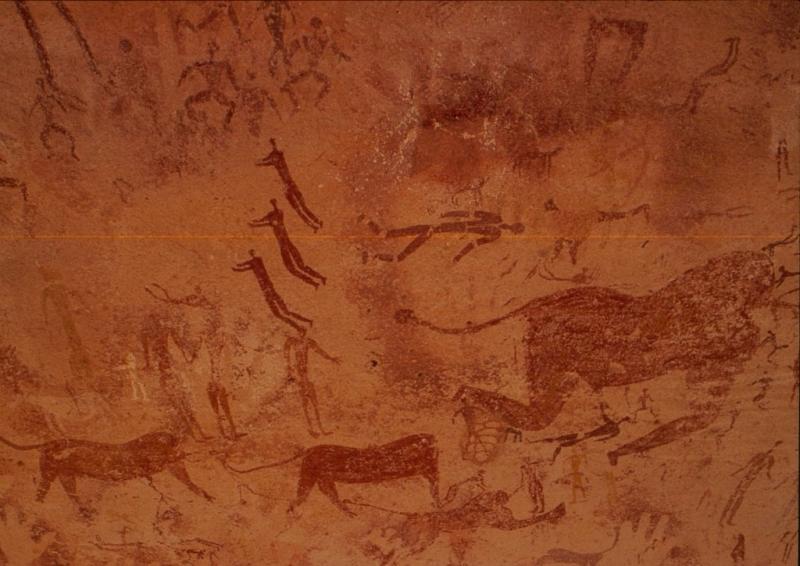 GROTTA-FOGGINI-Egitto, pittura rupestre, Erodoto108
