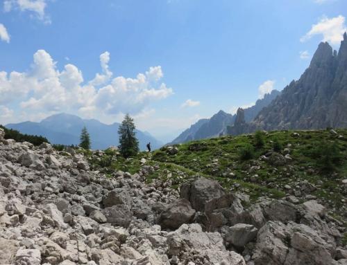 Pensare come le montagne, proseguo il cammino e la scrittura tra le Dolomiti