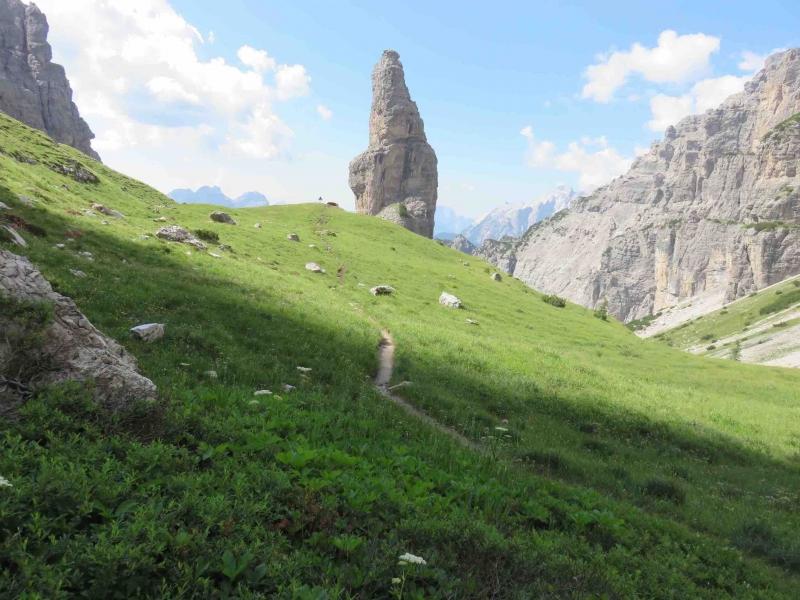 campanile, forcella val montanaia, dolomiti friulane, Friuli