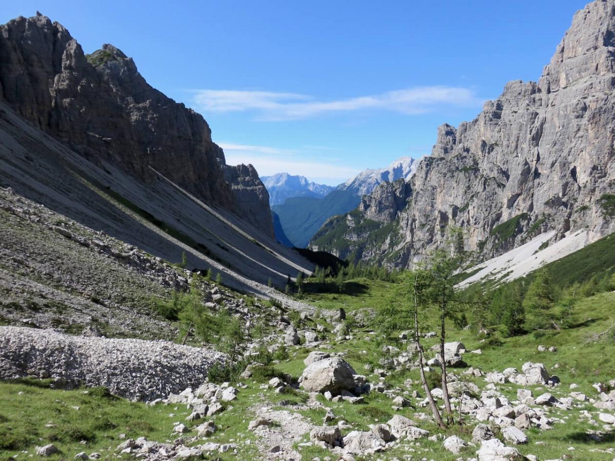 Luca Vivan, anello Dolomiti friulane, forcella leone, Val Monfalcon di Cimoliana, val Cimoliana, Dolomiti Friulane, Pordenone, Friuli, Cimolais