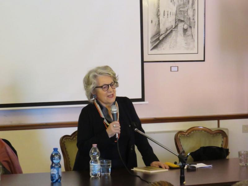 Antonia Arslan a San Lazzaro degli Armeni, presentazione organizzata da Pordenonelegge