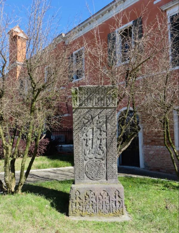 Khachkar a San Lazzaro degli Armeni