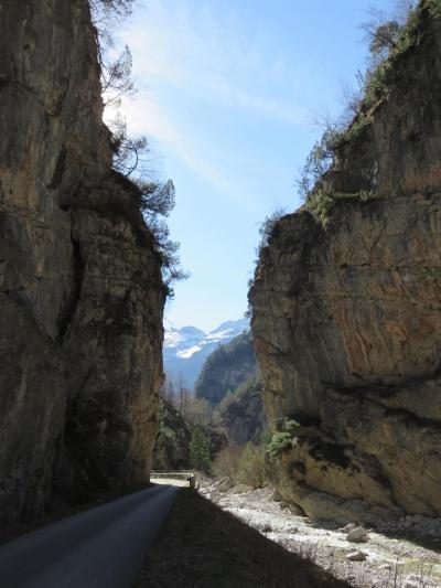 trekking Dolomiti, vista della Val Cimoliana, Dolomiti del Friuli
