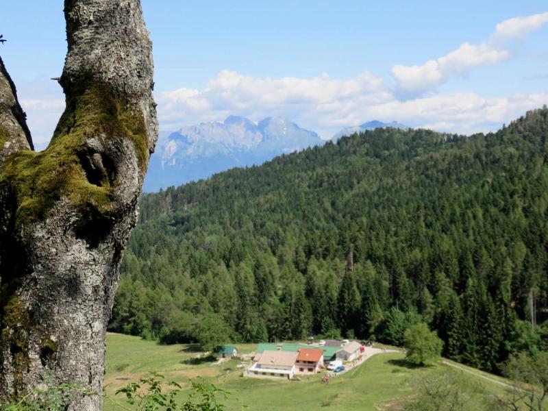 Valmorel, vista su malga Montegal