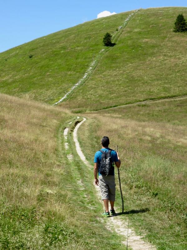 valmorel, Luca Vivan sul sentiero, Pian de le Femene