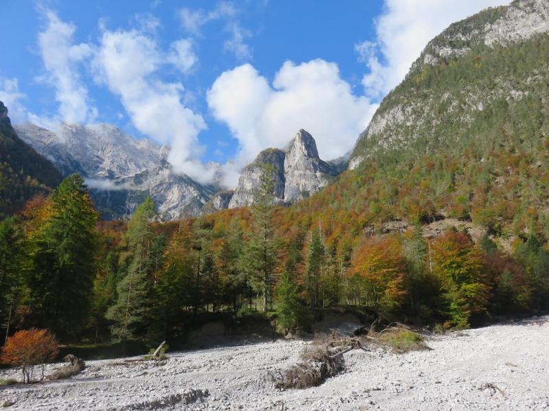 dolomiti del friuli, scorcio della Val Cimoliana