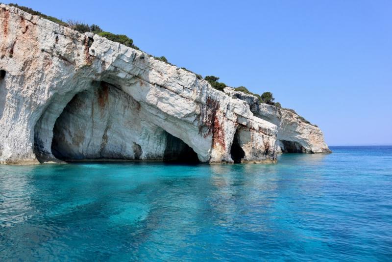Zante non turistica, Blue Caves Grottte Blu Zante