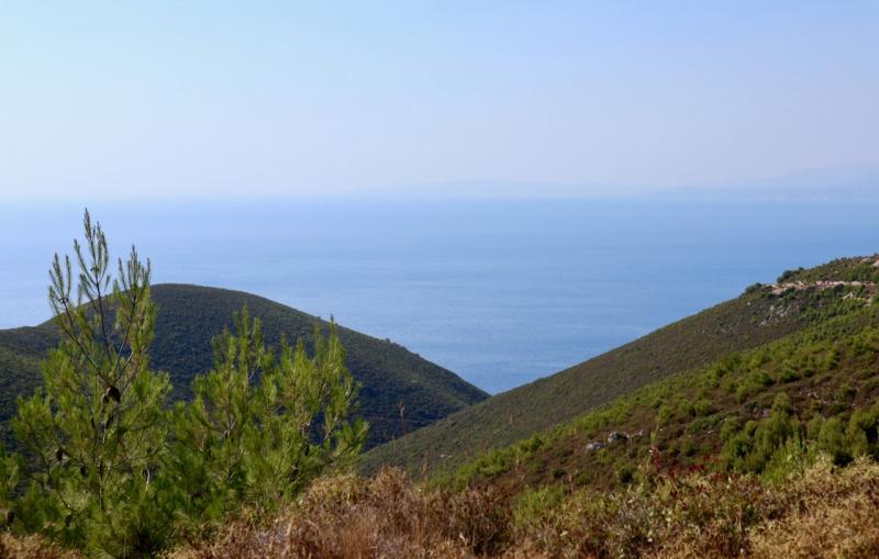 Zante non turistica, Cefalonia, costa nord di Zante