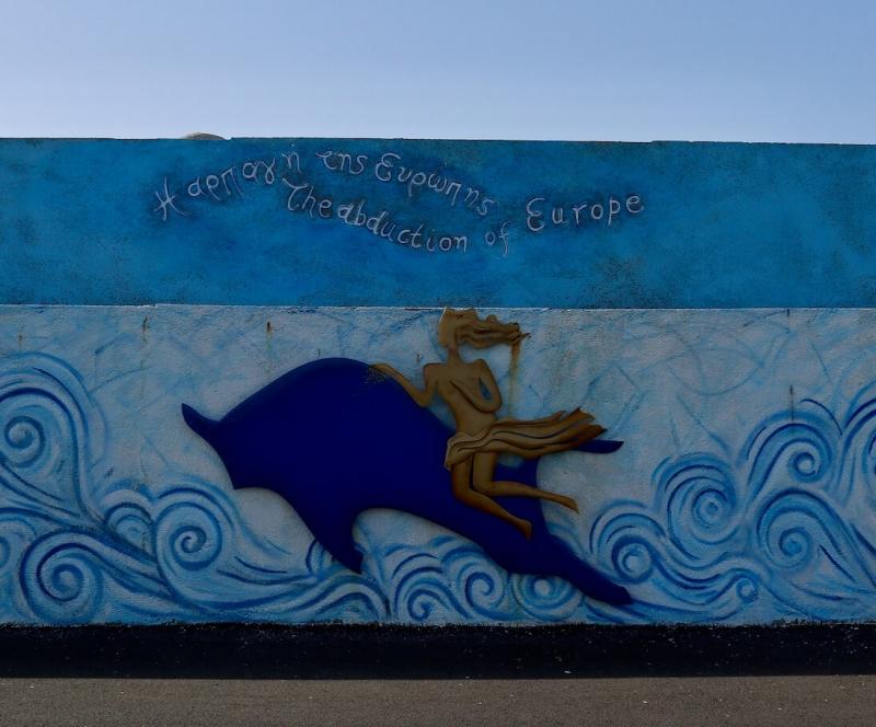 Heraklion, Creta autentica, murales di Creta