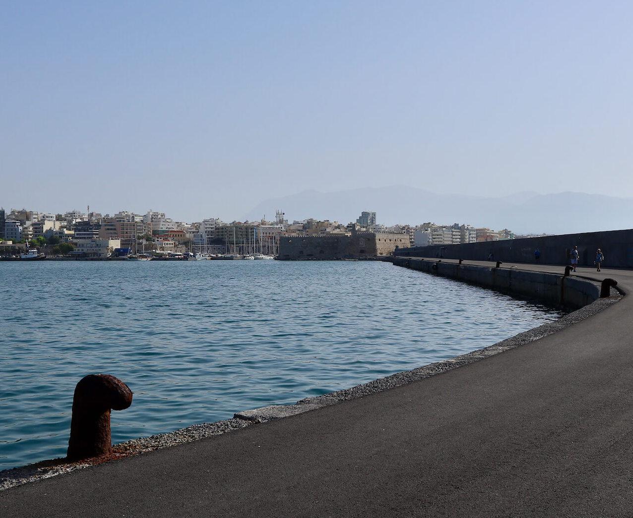 Heraklion capitale Creta, vecchio porto veneziano