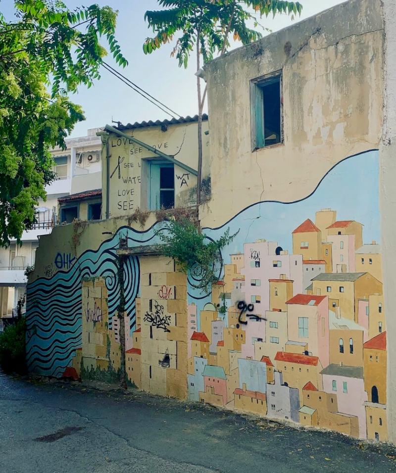 murales Heraklion, Lakkos, Creta