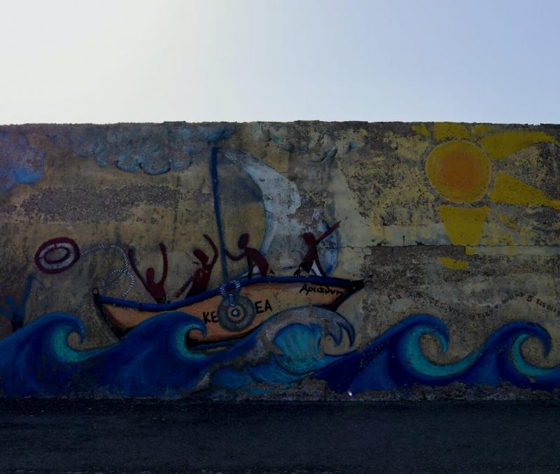 murales porto veneziano Heraklion, cosa fare a Heraklion